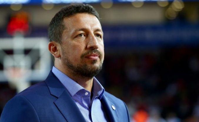 Türkiye Basketbol Federasyonu Başkanı Türkoğlu: Gönlümüzden geçen Tenerife'den madalyayla dönmek