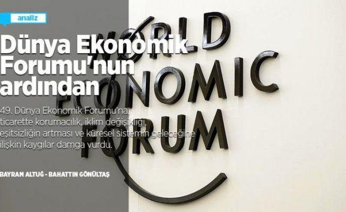 Dünya Ekonomik Forumu'nun ardından