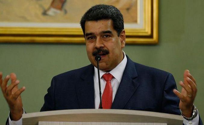 Venezuela lideri Maduro'ya desteklerini açıkladılar