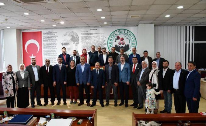 Başkan Meclis Üyeleri İle Vedalaşma Programında Buluştu