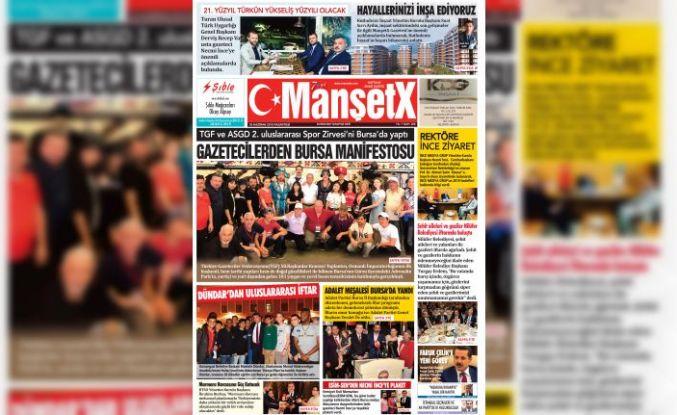Manşetx Gazetesi 286. Sayısı Çıktı