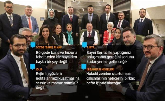 Cumhurbaşkanı Erdoğan: Şu anda FETÖ'den mahkum olanlara aldıkları cezaları askeri mahkeme verebilir miydi?