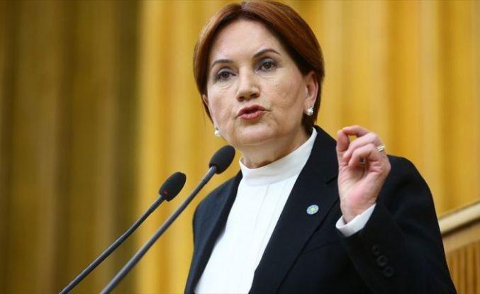 İYİ Parti Genel Başkanı Akşener: İnsanlar bir siyasi organizasyonun içinde yer almaktan vazgeçebilirler