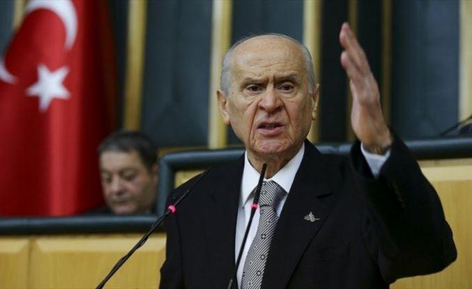 MHP Genel Başkanı Bahçeli: Darbeyi aklından geçiren varsa 82 milyonun kanını dökmeden muvaffak olamayacaktır