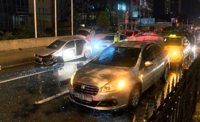 Sarıyer'de aynı bölgede iki kaza: 6 yaralı