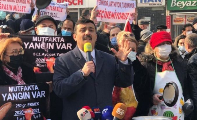 İyi Parti Bursa İl Başkanı Türkoğlu'ndan 'Mutfak Yangını' açıklaması!