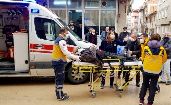 Bursa'da otomobilin çarptığı yaya yaralandı