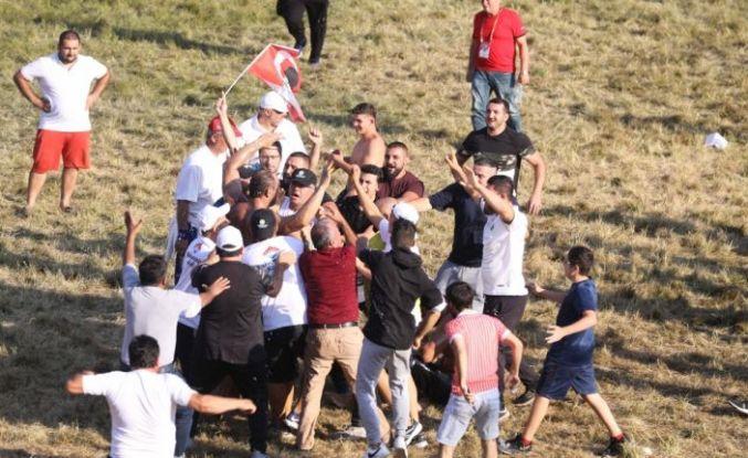 Kırkpınar Er Meydanı'nda Türk bayrağı açıldı