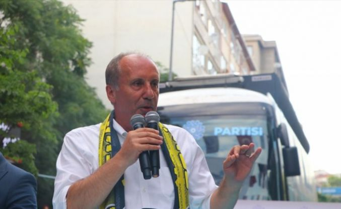 Memleket Partisi Genel Başkanı İnce, partisinin Tekirdağ İl Başkanlığının açılışını yaptı: