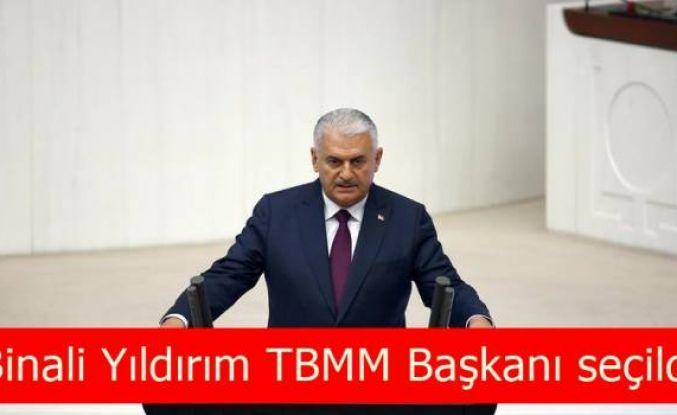 Binali Yıldırım TBMM Başkanı seçildi
