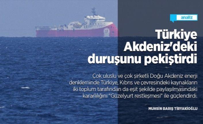 Türkiye 'Güzelyurt restleşmesi' ile Akdeniz'deki duruşunu pekiştirdi