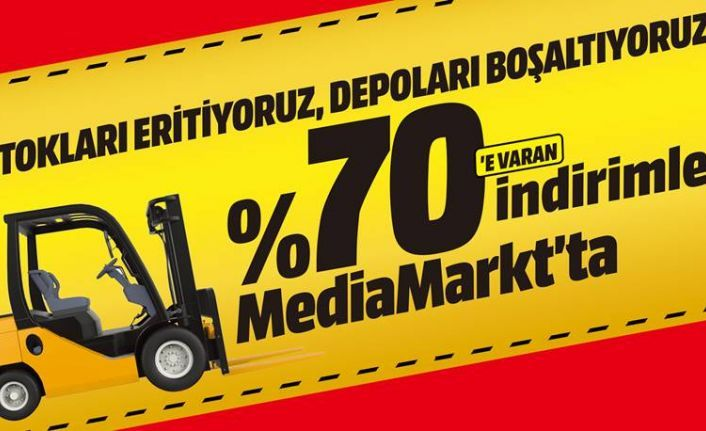 Mediamarkt'tan Bol Taksitli Çılgın İndirimler