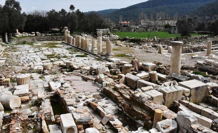 'Gladyatörler kenti'nin mezarları ziyarete açılıyor