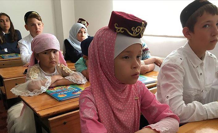 Yerleşik Tatarlar Antalya'da kültürlerini yaşatıyor