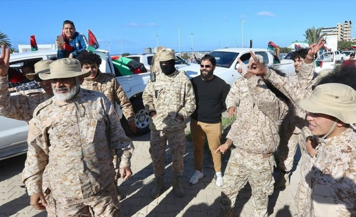 Libyalılar devrimin dokuzuncu yılında darbeci Hafter'e direniyor