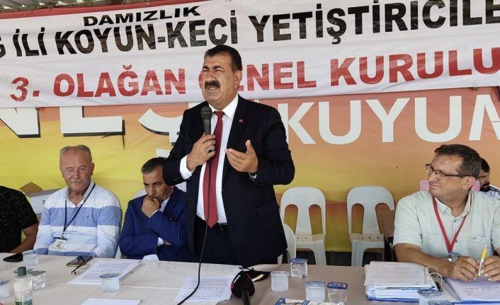 """TÜDKİYEB Başkanı Çelik: """"Hedefimiz küçükbaş hayvan sayısını 90 milyona çıkarmak"""""""