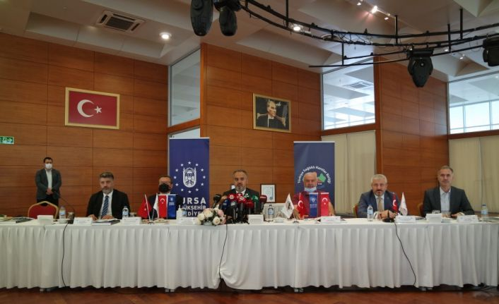 Türkiye Sağlıklı Kentler Birliği 2. yıl değerlendirme toplantısı Bursa'da yapıldı