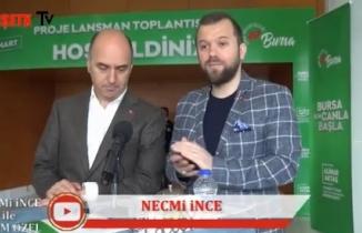 Necmi İnce İle secim özel konuğu Ak Parti Bursa Mudanya Belediye Başkanı Adayı Murat ÜNAL konuk Oldu.