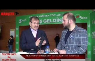 Ak Parti Bursa Milletvekili ve eski Başbakan Yardımcısı Hakan Çavuşoğlu konuk oldu.