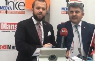 NECMİ İNCE İle SEÇİM ÖZEL Büyükorhan Belediye Başkanı Sn.Hasan Taş Konuk oldu.