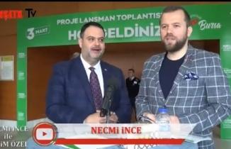 Necmi İnce ile Seçim Özel Konuğu Ak Parti Bursa Gemlik Belediye Başkan Adayı Berkay Bulut oldu.