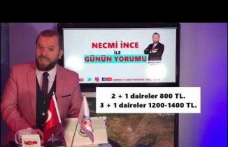 Necmi İnce İle Günün yorumu Bursa gündemi değerlendirmeye devam ediyor.06.12.2018
